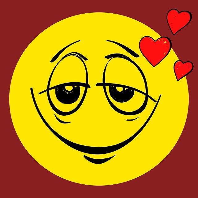 Verliebt Smiley