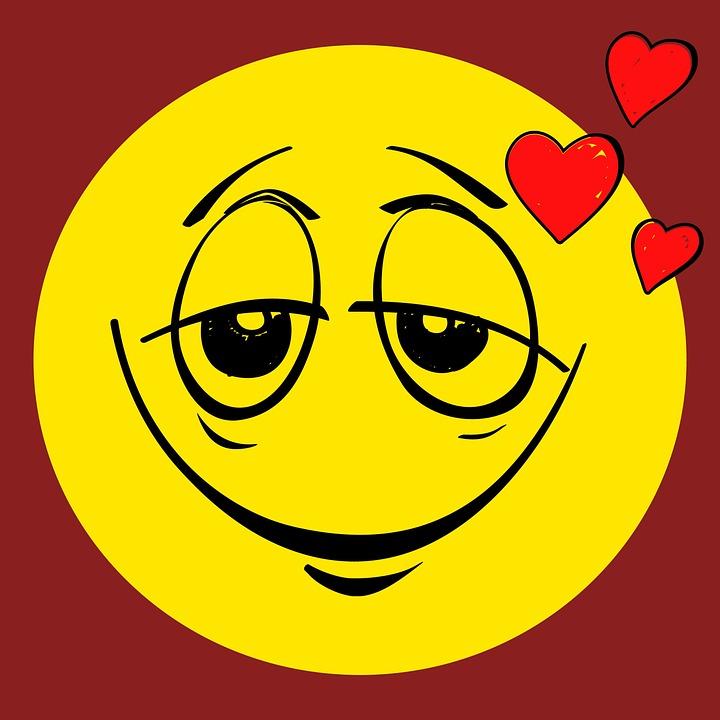 smiley verliebt