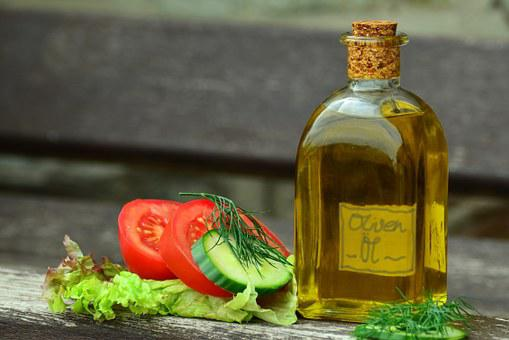 Oil Olive Oil Bottle Mediterranean Glass B