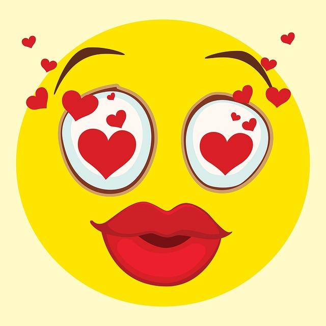 Illustration gratuite smiley motic ne dr le l 39 amour - Image smiley gratuit ...