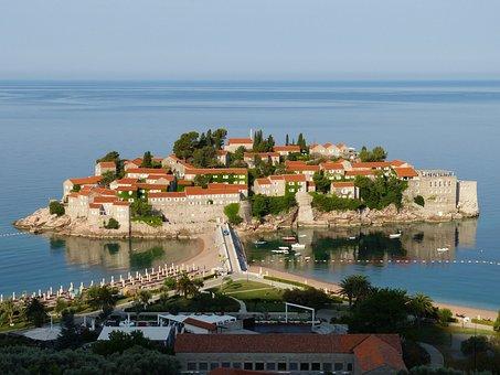 Budva, Montenegro, Balkan, Adriaterhavet