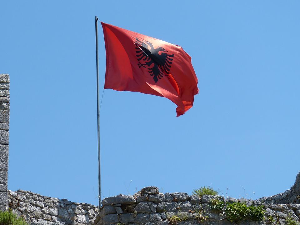 free photo  albania  balkan  shkod u00ebr  flag - free image on pixabay