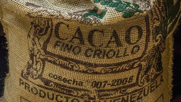 Cocoa, Bag, Chocolate, Beans, Venezuela