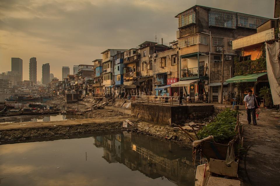 Xiamen, Moradores Da Favela, Fotografia De Rua, Sha Po