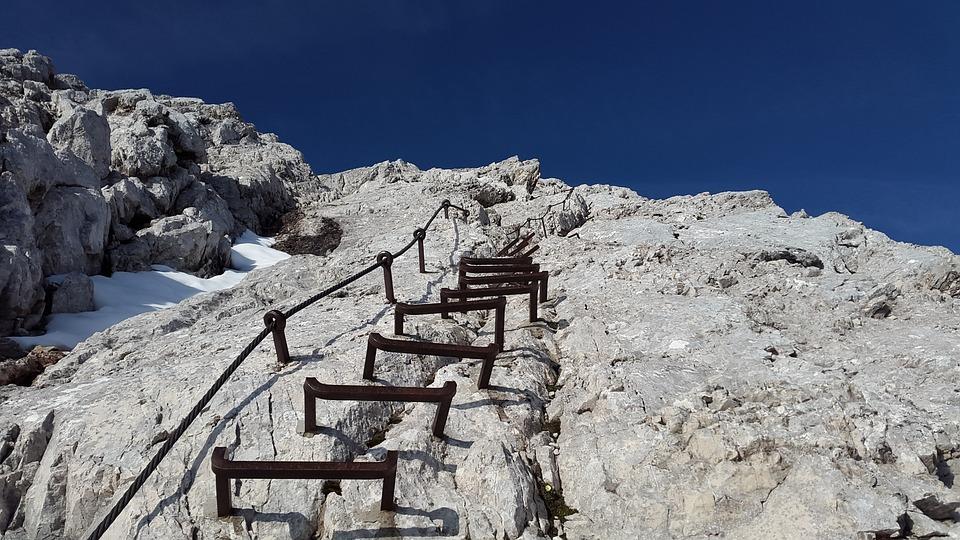 Klettersteig Alpspitze : Klettersteig alpspitze leiter kostenloses foto auf pixabay
