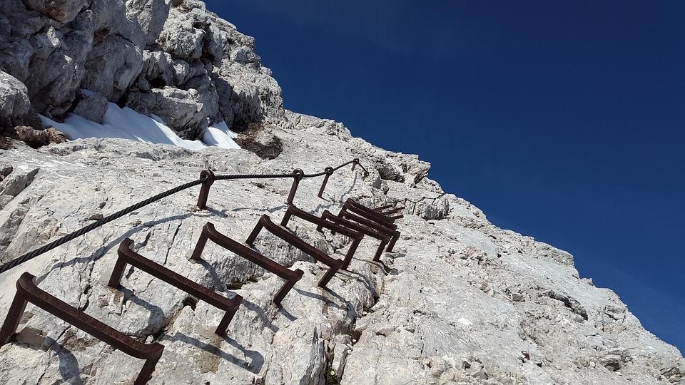 Klettersteig Leiter : Klettersteig alpspitze leiter · kostenloses foto auf pixabay