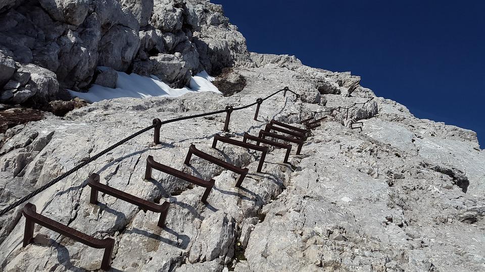 Klettersteig Alpspitze : Klettersteig alpspitze leiter · kostenloses foto auf pixabay