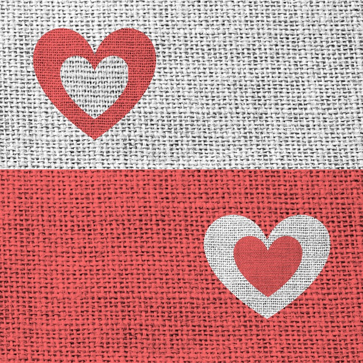 Free illustration: Fabric, Textile, Red, Grey, Heart - Free Image ...