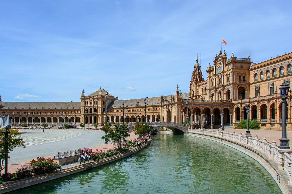 Space, Spain, Seville, Architecture, Building