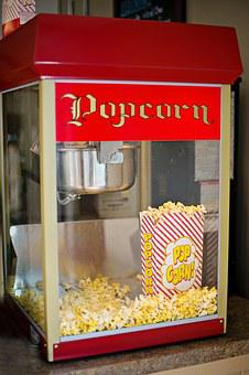 Popcorn Machine Old-Fashioned Popcorn