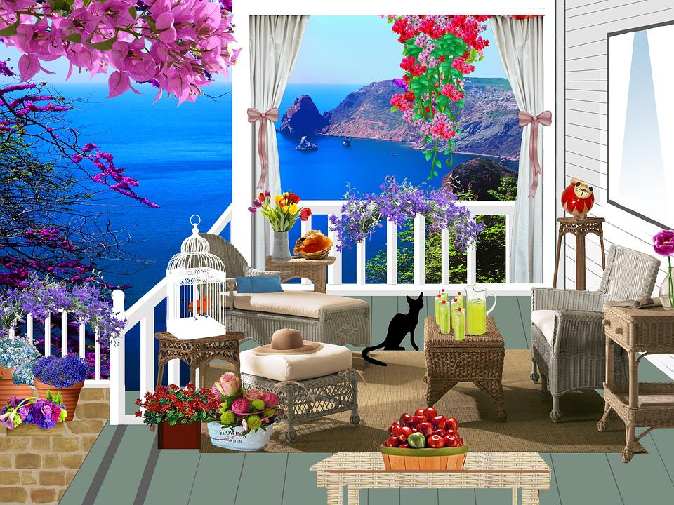Galerie Haus Balkon Kostenloses Bild Auf Pixabay