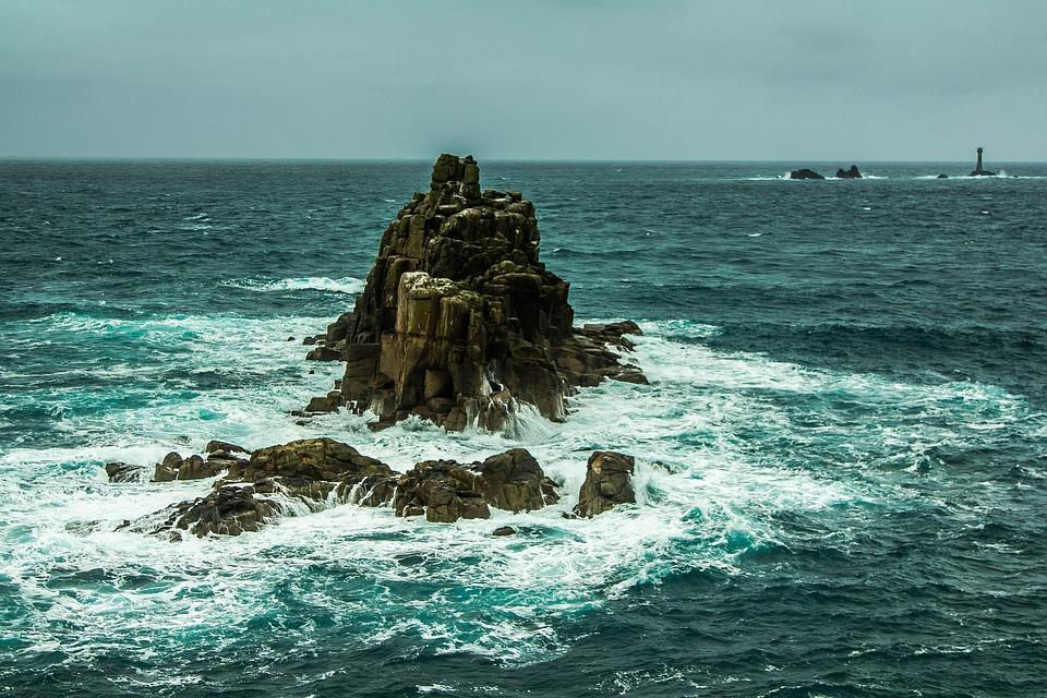 free photo  ocean  rock  waves  wind  stormy - free image on pixabay