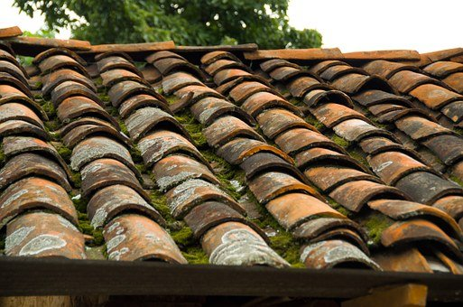 Roof Tile Rustic House Architecture Constr