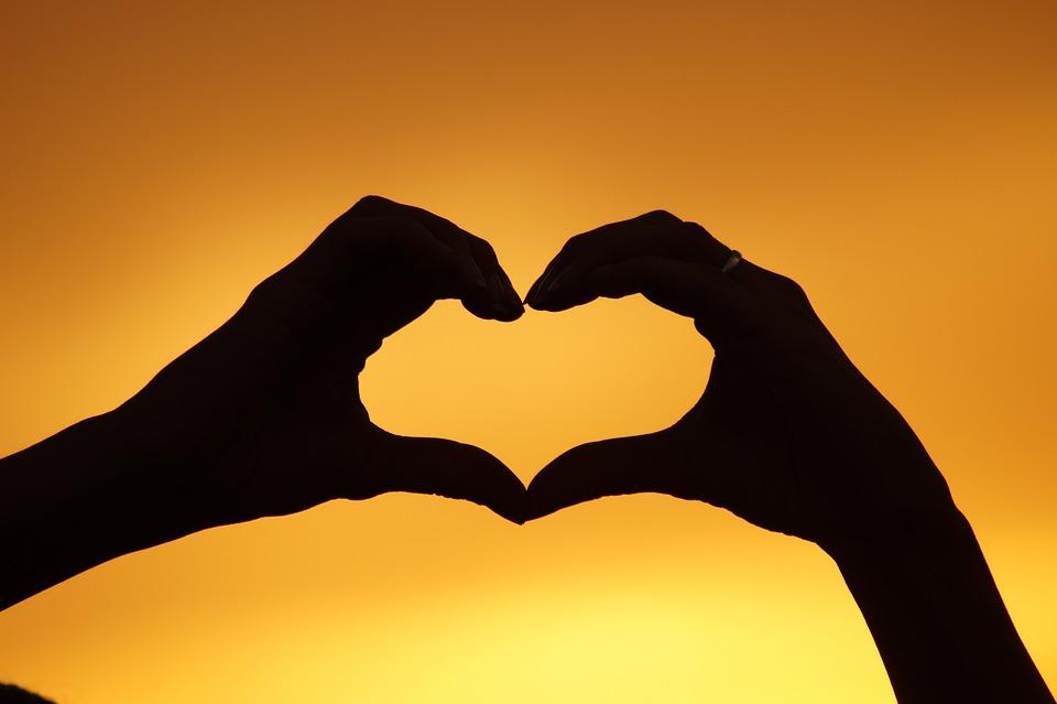 Corazón, Manos, Oeste, Amor, Confianza, Eternidad