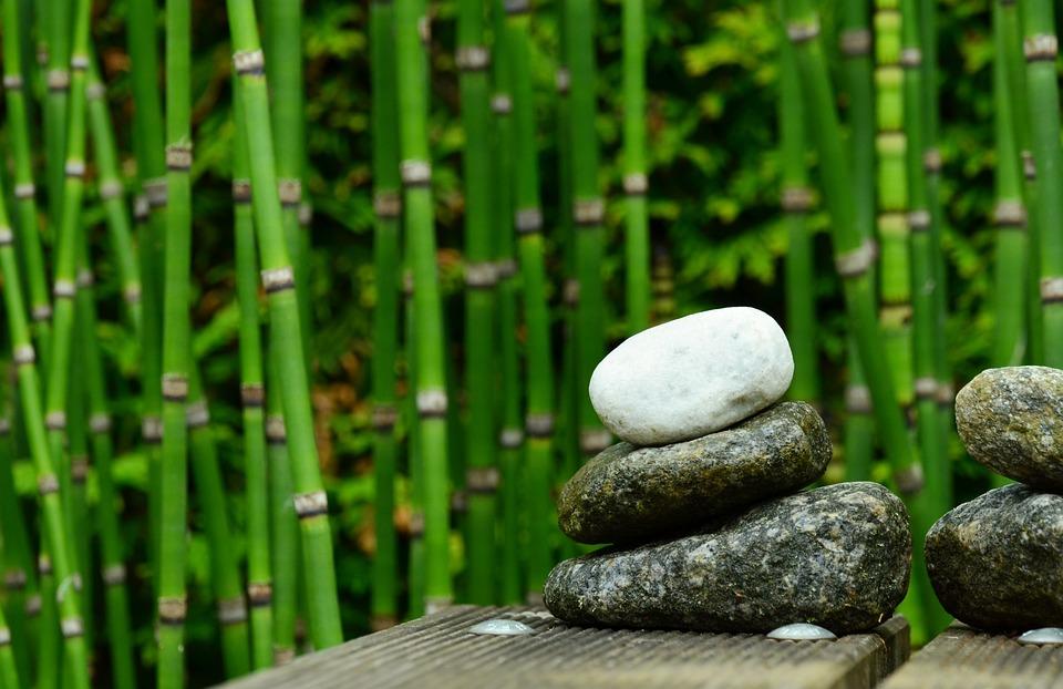 kostenloses foto steine bambus dekoration garten kostenloses bild auf pixabay 827537. Black Bedroom Furniture Sets. Home Design Ideas