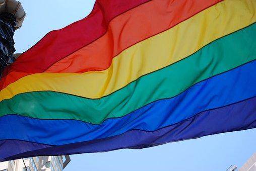 Pride, Lgbt, Flag, Rainbow, Community