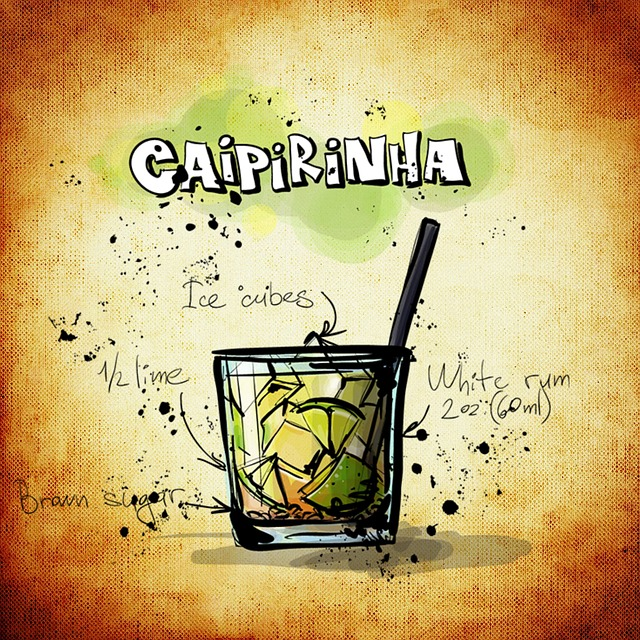 Caipirinha cocktail  Kostenlose Illustration: Caipirinha, Cocktail, Getränk ...