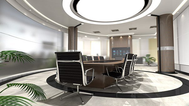 Roundtable, Light, Interior Design, Tv