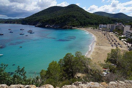 Qué ver qué hacer en Ibiza, Panorámica playas de Ibiza