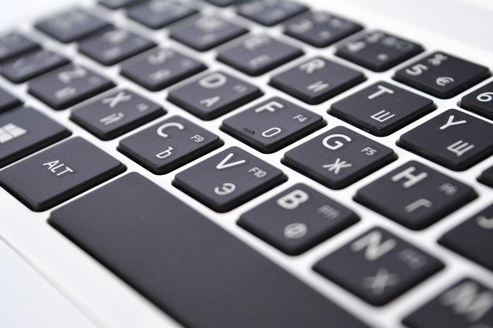 photo gratuite clavier ordinateur portable image gratuite sur pixabay 829330. Black Bedroom Furniture Sets. Home Design Ideas