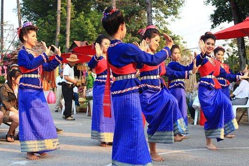 Thailand, Dance, Traditional, Thai, Asia