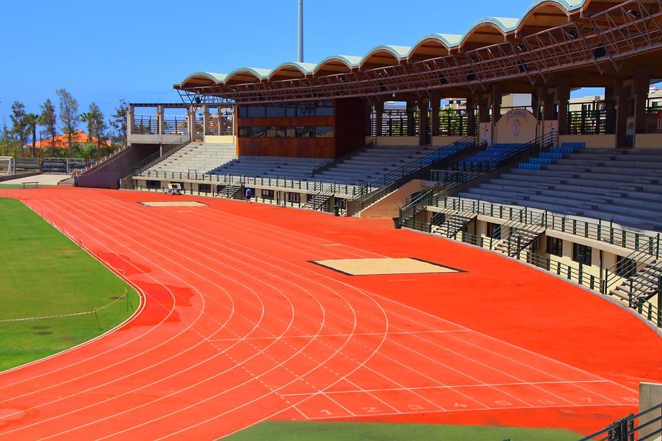 Pista Atletismo 100 Metros · Foto Gratis En Pixabay
