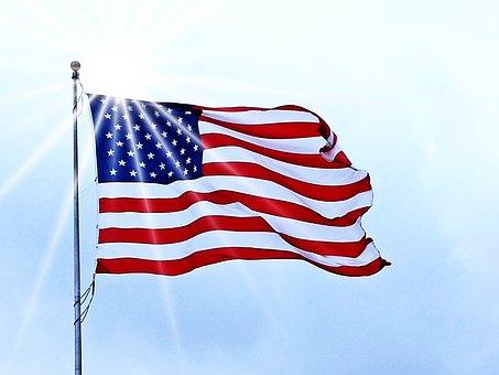 Usa Flag, Flag, Usa, American, United