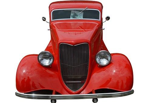 Retro Auto, Ford 1934, Sedan, Us, Car