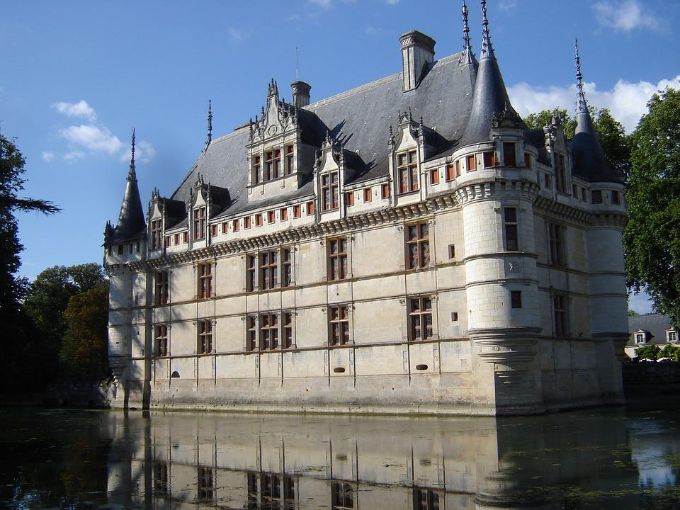 Photo gratuite ch teaux de la loire image gratuite sur pixabay 830888 - Chateau de la loire azay le rideau ...