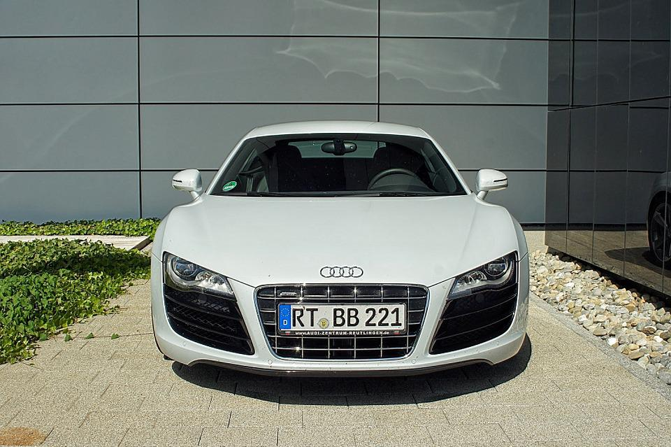 Superb Sports Car Audi R8 Auto Road Sport Supercar