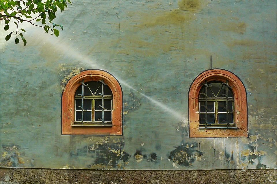 ウィンドウ, Hauswand, 家のファサード, ホームフロント, ファサード, アーキテクチャ, 風化した