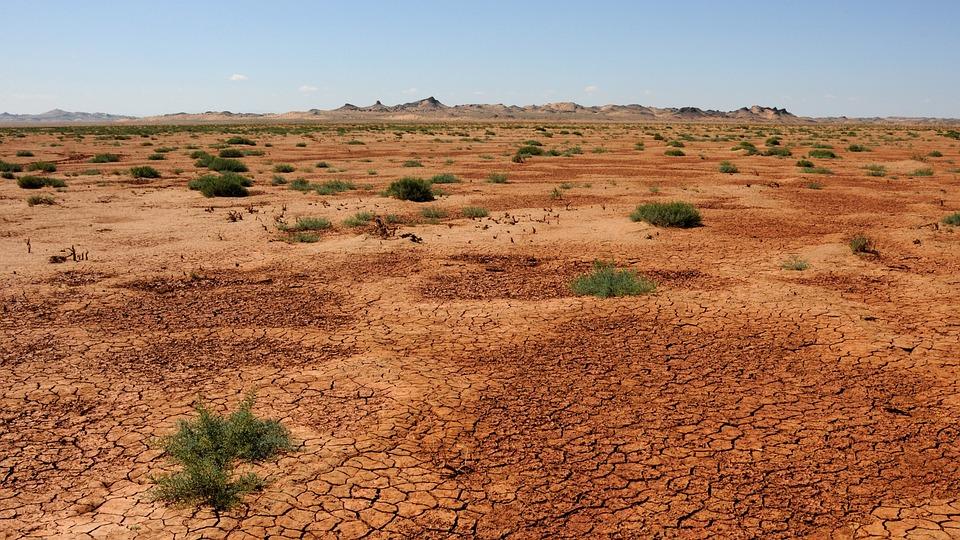 Mongolia, Arena, Desierto, Gobi