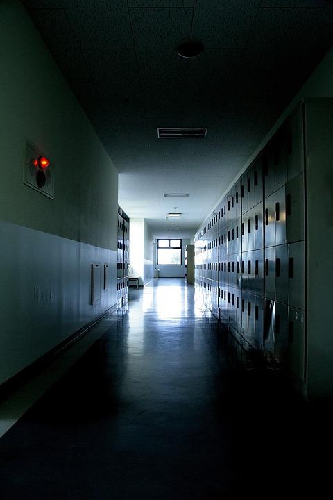 School Corridor Locker 183 Free Photo On Pixabay