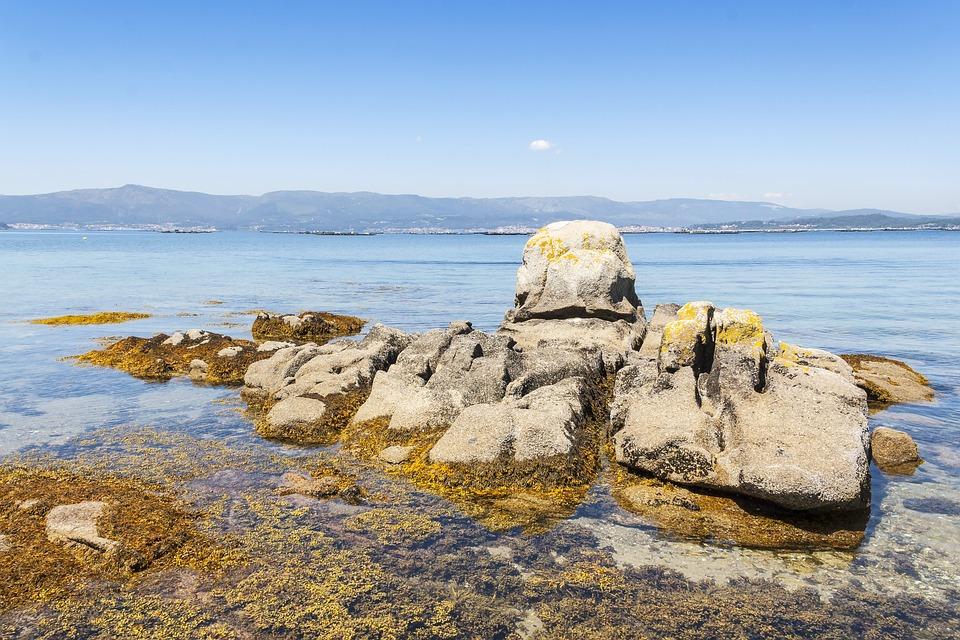 Costa, Rocas, Isla De Arousa, Arousa, Galicia