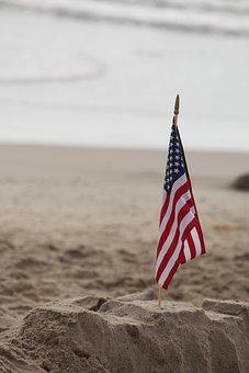 America, Flag, Usa, United, States