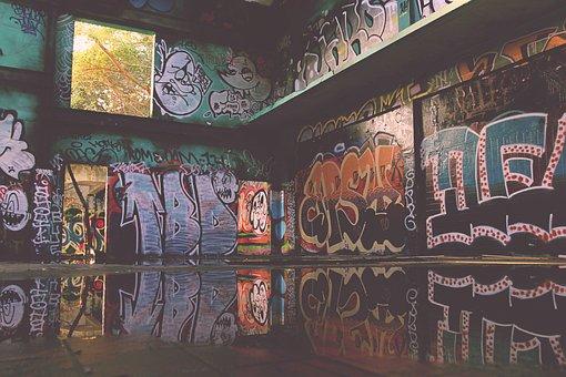 Graffiti Grunge Design Paint Texture