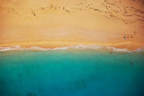 Beach, Shoreline, Coast, Summer, Shore
