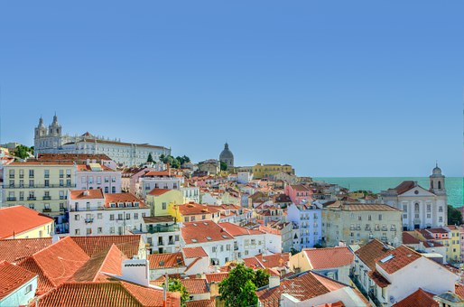 Alfama, Lisbon, Colors, Portugal, Europe