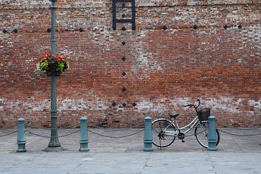 Brick, Hakodate, Bike, Travel
