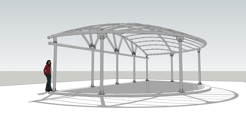 steel canopy leksand acrylic sketchup  sc 1 st  Pixabay & Free illustration: Steel Canopy Leksand Acrylic - Free Image on ...