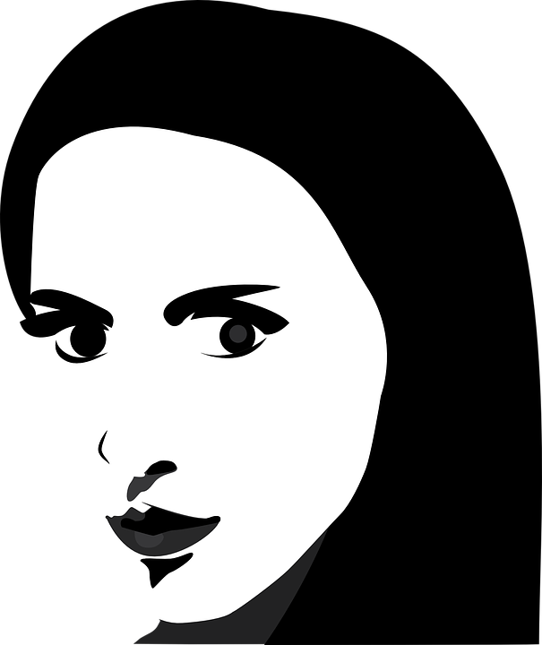 free vector graphic face woman portrait lips free