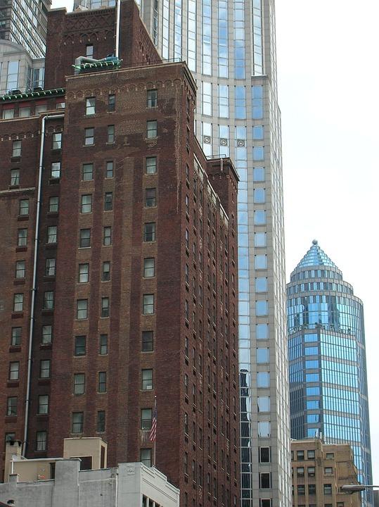 ニューヨーク 高層ビル アメリカ , Pixabayの無料写真