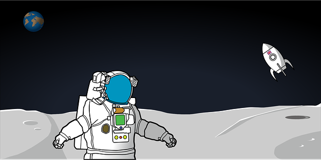Free vector graphic: Moon, Astronaut, Planet, Space - Free ...