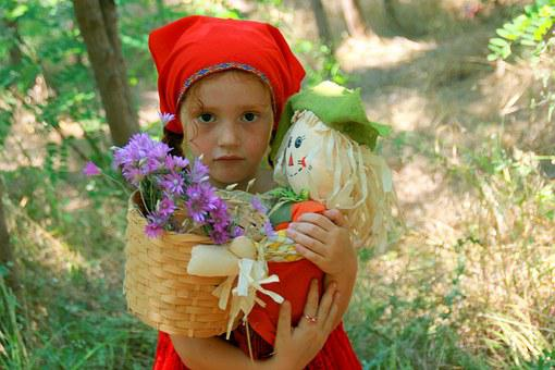 Girl, Red, Little Red Riding Hood