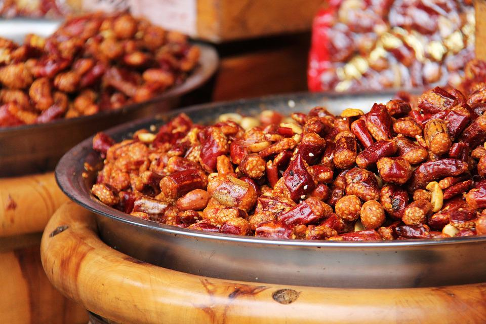 Free photo: Spicy, Fried Peanuts, Dry Chili - Free Image on Pixabay ...