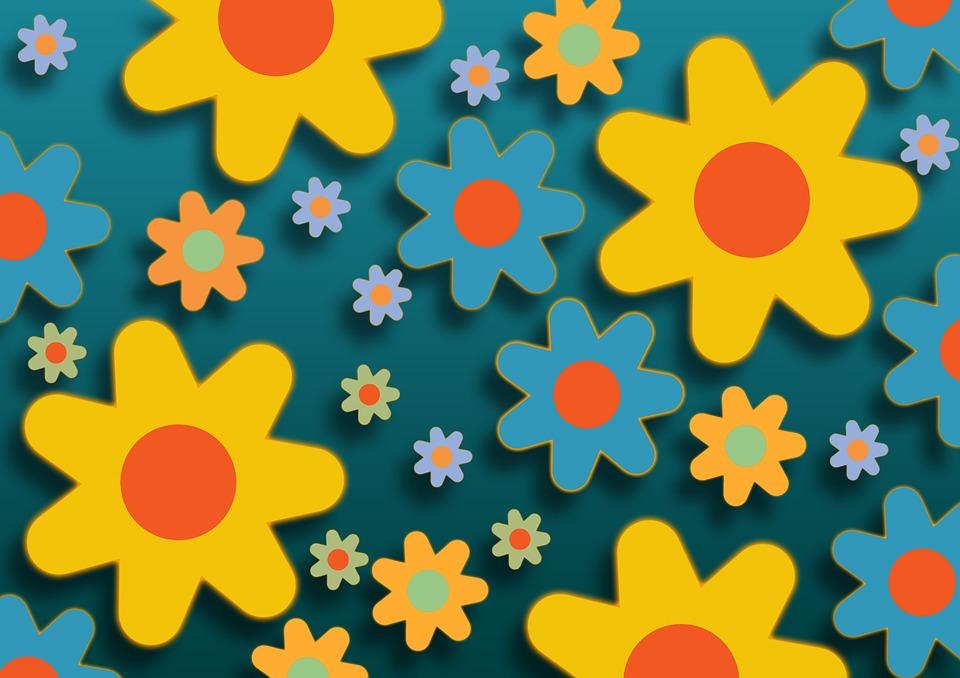 flower power blumen zierde kostenloses bild auf pixabay. Black Bedroom Furniture Sets. Home Design Ideas