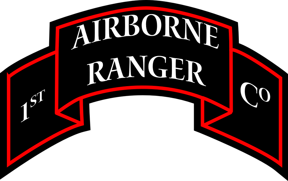 airborne ranger insignia free vector graphic on pixabay rh pixabay com us army rangers logo