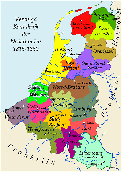 Free vector graphic Map Netherlands Kingdom History Free