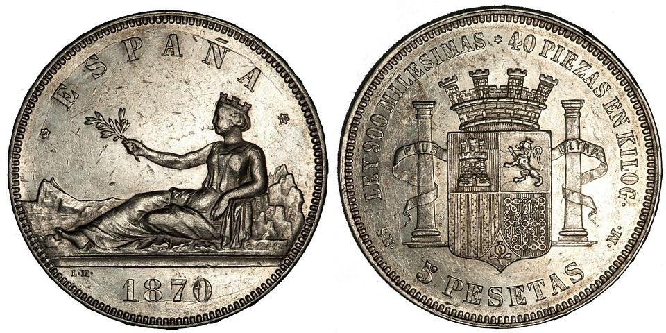 Historical Currency Charts: Free photo: Coins Money Spanish Pesetas - Free Image on Pixabay ,Chart