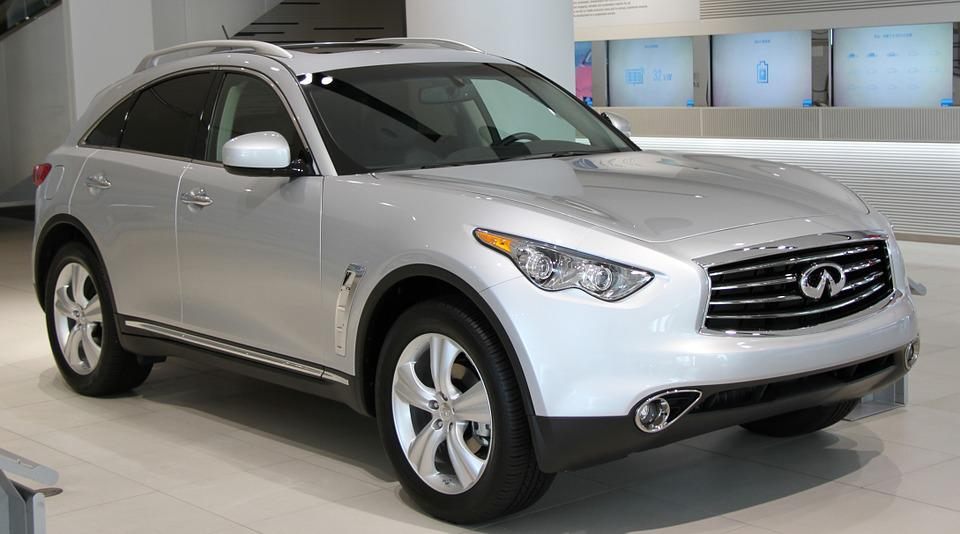 Woman In Infiniti Commercial >> Free photo: Car, Suv, Infiniti, Fx, Front - Free Image on Pixabay - 837870